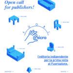 FuoriMICRO: l'editoria indipendente al Fuorisalone | Open call for publishers