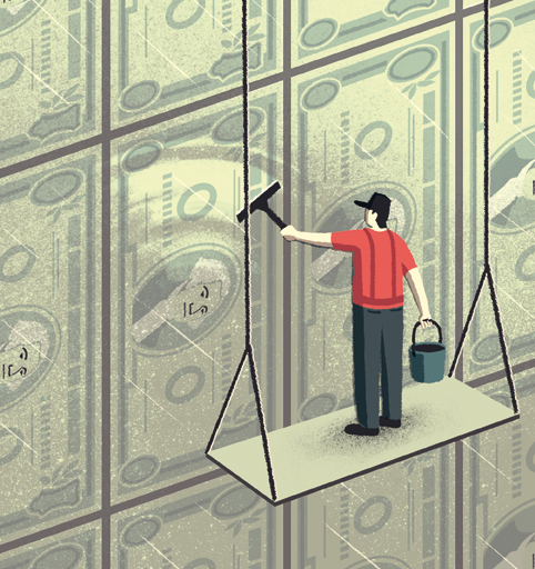 The Wall Street Journal - A New Way to Clean Old Money